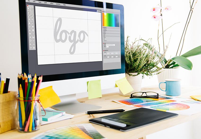 studio di un logo aziendale