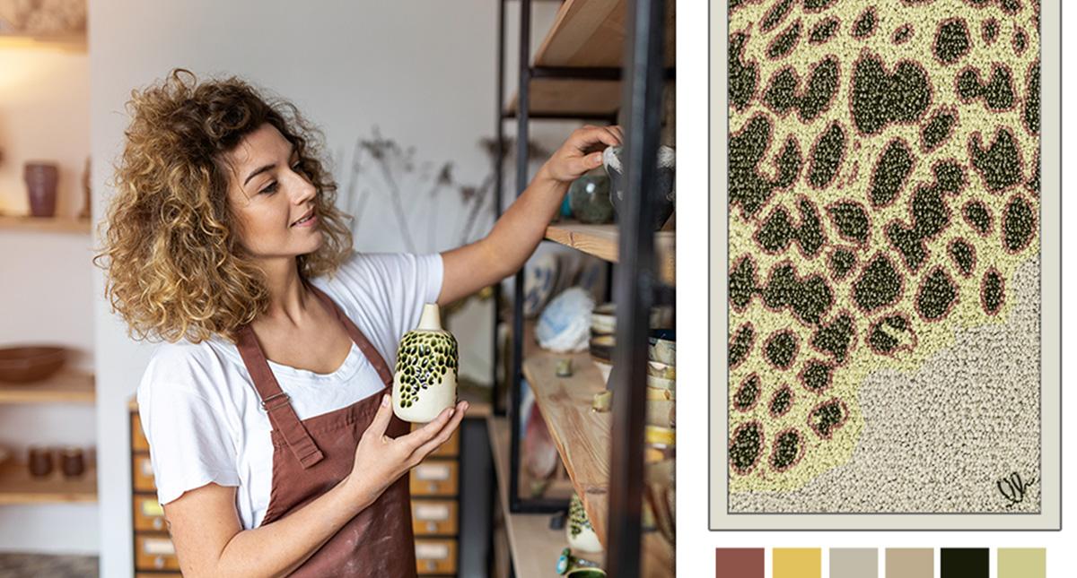 collezione personalizata di tappeti e zerbini