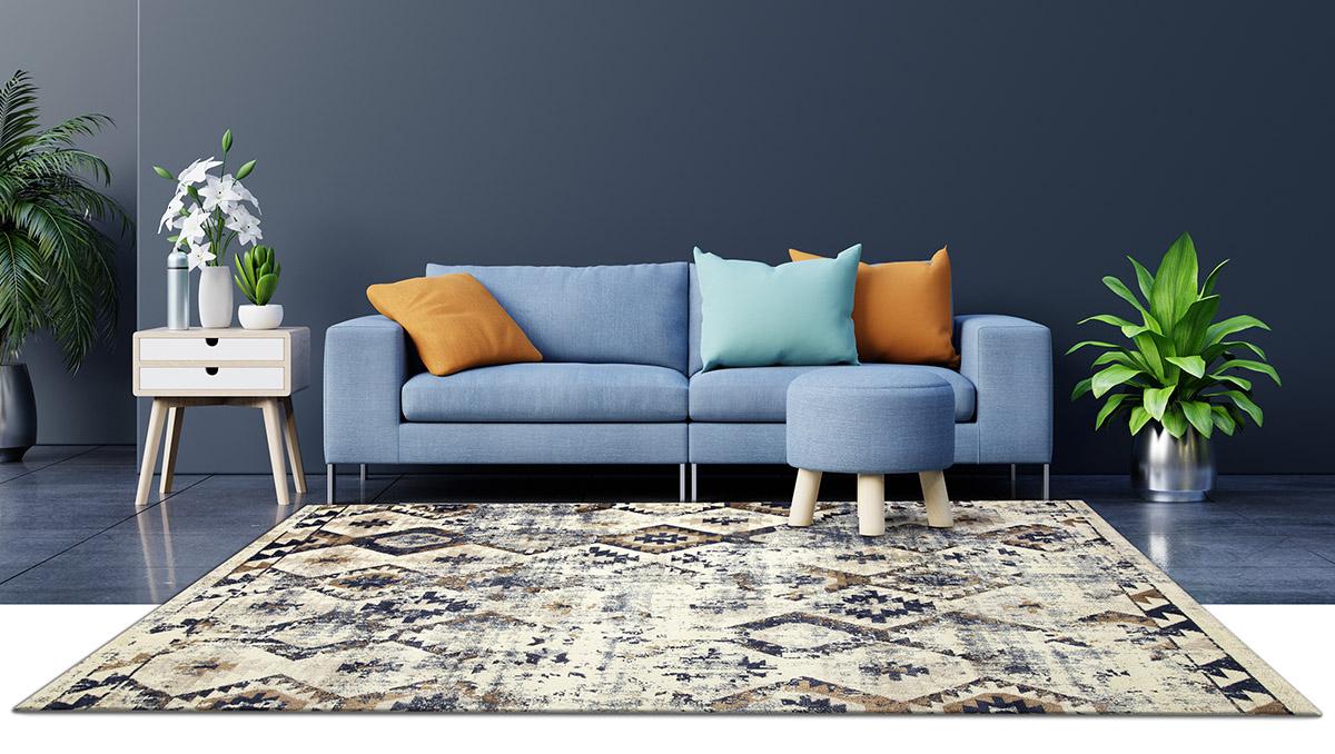 tappeto arredamento tra moderno e classico