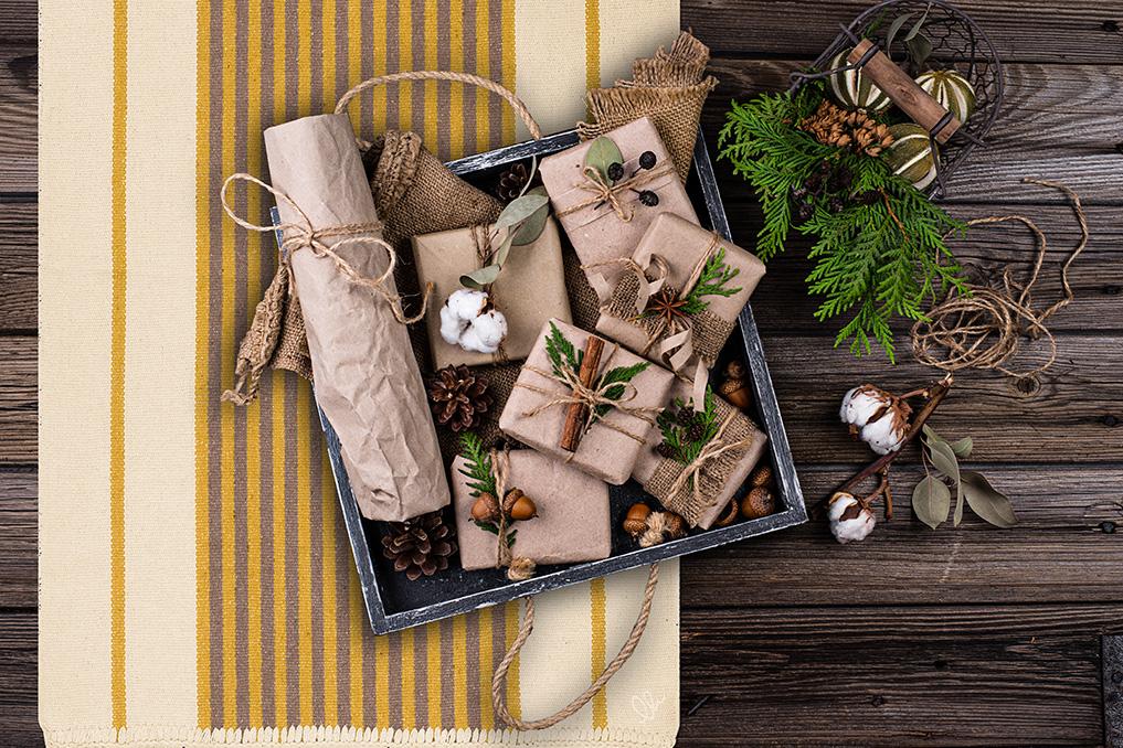 Energy tappeti in cotone per regali green