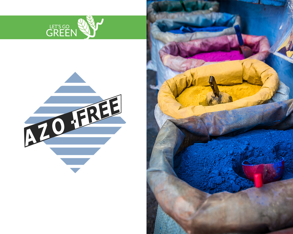 Let's go Green by Olivo Tappeti certificazioni Azo-Free